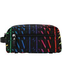 Valentino Vltn Times Toiletry Bag - Multicolour