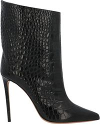 Alexandre Vauthier Alex 110 Pointed Toe Ankle Boots - Black