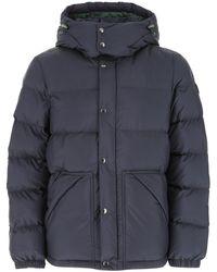 Woolrich Hooded Down Jacket - Blue