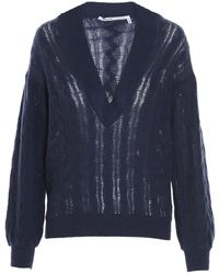 Agnona Other Materials Sweater - Blue