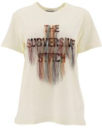 Dior The Subversive Stitch Embroidered T-shirt - White