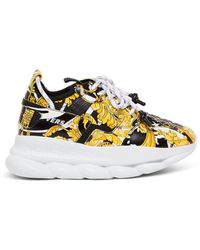 Versace Chunky Runner Trainers - Multicolour
