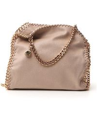 Stella McCartney Falabella Mini Tote Bag - Natural
