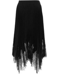Tory Burch Crepe Skirt 4 - Black
