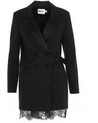 Self-Portrait Blazer Mini Dress - Black