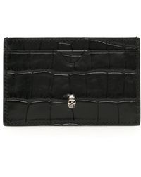 Alexander McQueen Skull Cardholder - Black