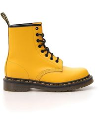 Dr. Martens 1460 Lace-up Boots - Yellow
