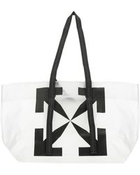 Off-White c/o Virgil Abloh Arrows Print Tote Bag - White