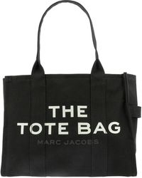 "Marc Jacobs ""the Traveller Tote"" Bag - Black"