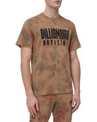 BBCICECREAM Tie-dye Logo Print T-shirt - Brown