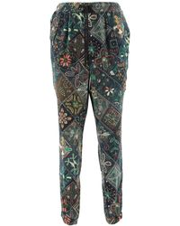 Pierre Louis Mascia Printed Relaxed-fit Pants - Multicolour