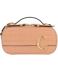 Chloé Vanity Mini Crossbody Bag - Pink