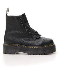 Dr. Martens Zip Up Boots - Black