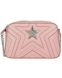 Stella McCartney Star Quilted Shoulder Bag - Pink