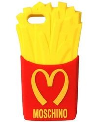 Moschino French Fries Iphone 5 Case - Yellow