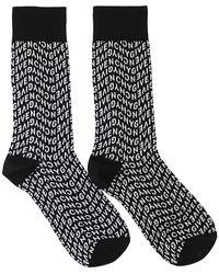 Givenchy Refracted Socks - Black