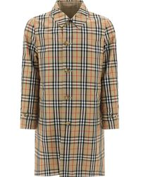 Burberry Vintage Check Reversible Raincoat - Natural
