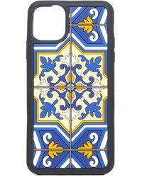 Dolce & Gabbana Printed Iphone 11 Phone Case - Blue