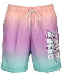 Nike Jordan Sport Dna Swim Shorts - Purple