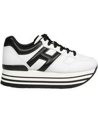 Hogan Maxi H222 Sneakers - Black