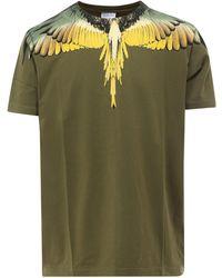 Marcelo Burlon Wings T-shirt - Green