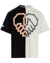 McQ Color Block T-shirt - Multicolor