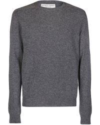 Bottega Veneta Crew-neck Sweater - Gray