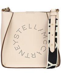Stella McCartney Logo Mini Shoulder Bag - White