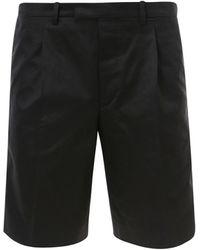 Prada Tailored Bermuda Shorts - Black