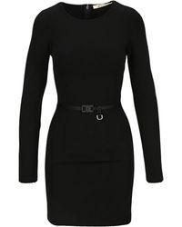 1017 ALYX 9SM Buckle Belt Fitted Dress - Black