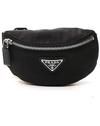 Prada Logo Travel Coin Pouch - Black