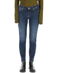Sportmax High-rise Skinny Jeans - Blue