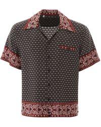 Dolce & Gabbana Shirt With Chest Pocket Black
