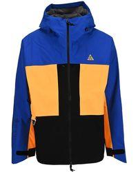 Nike Acg Gore-tex Windbreaker Jacket - Blue