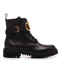 Valentino Garavani Vlogo Boots - Black