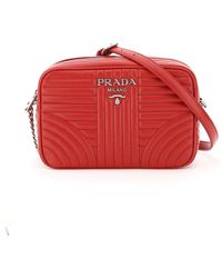 Prada Black Red Leather Diagramme