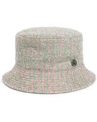 Maison Michel - Tweed Jason Hat - Lyst