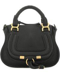 Chloé Marci Mini Handbag - Black