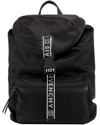 Givenchy 4g Logo Strap Backpack - Black