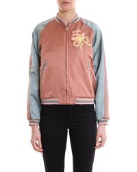 Gucci Cat Bomber Jacket - Pink