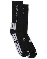 Aries No Problemo Crew Socks - Black