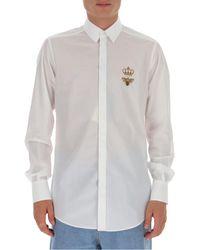 Dolce & Gabbana - Logo Shirt - Lyst
