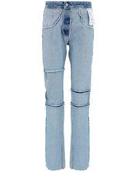 MM6 by Maison Martin Margiela Inside-out Jeans - Blue