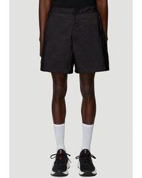 Prada Pocket Detail Swim Shorts - Black
