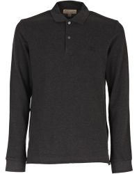 Burberry - Classic Longsleeve Polo Shirt - Lyst
