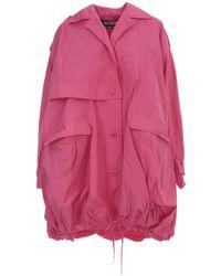 Jacquemus Ouro Parka Coat - Pink