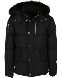 Moose Knuckles 3q Hooded Jacket - Black