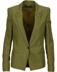 Haider Ackermann Single-breasted Blazer - Green