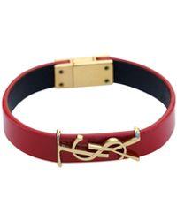 Saint Laurent Opyum Bracelet - Red