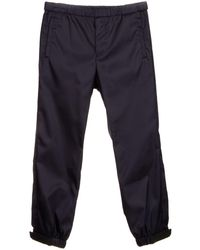Prada Elasticated Track Pants - Blue